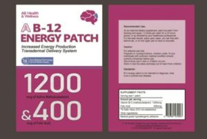 Vitamin B12 Patches Edinburgh